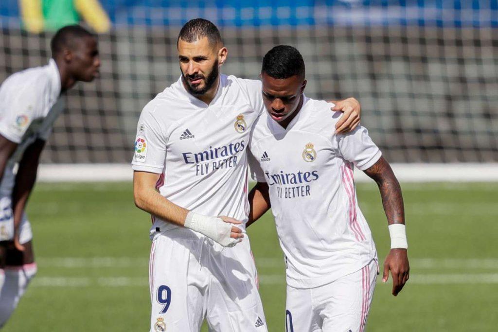 Benzema enjoys playing alongside  Vinicius